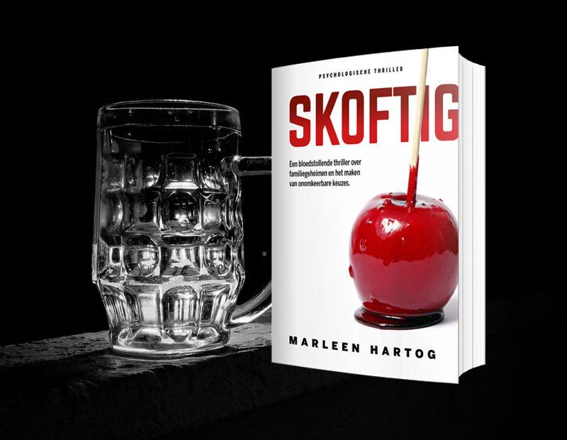 thriller skoftig winactie-bierpakket boek marleen hartog thrillerschrijfster