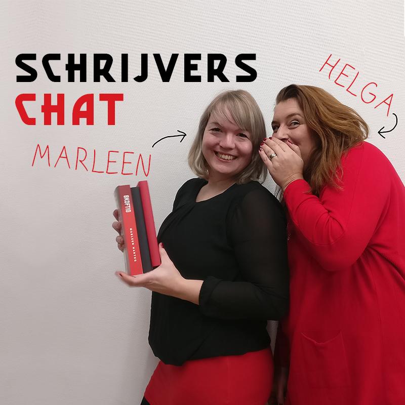 schrijvers chat Marleen Hartog Helga Aerssens 2020