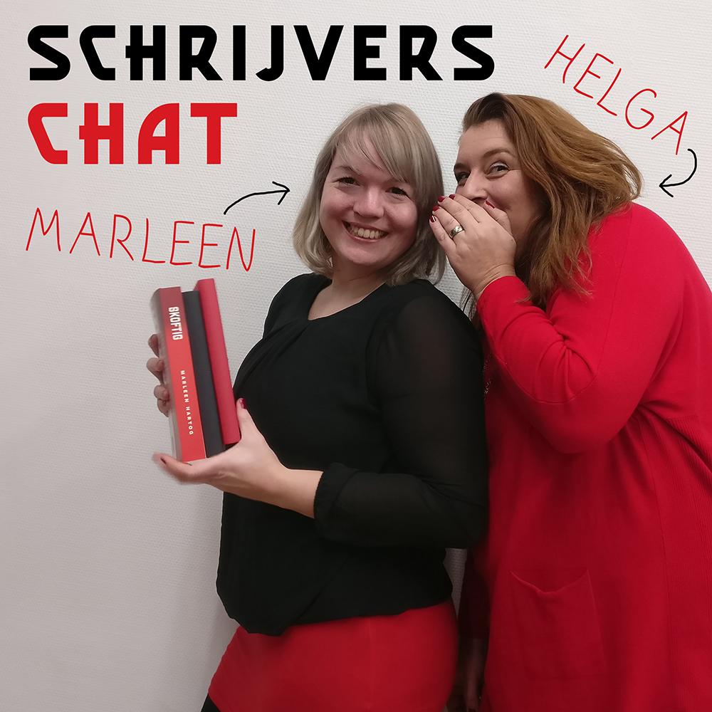 zichtbaar schrijvers chat Marleen Hartog Helga Aerssens 2020