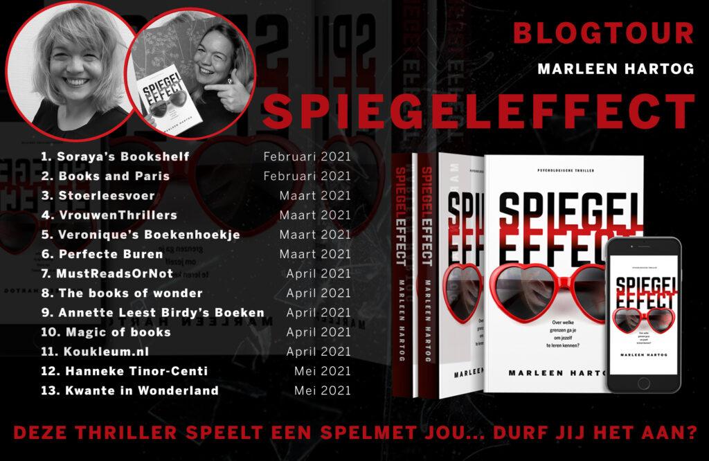 Spiegeleffect Blogtour Marleen Hartog